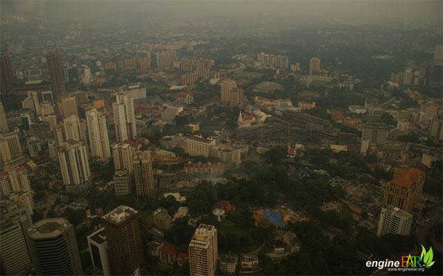 Kuala Lumpur dr KL Tower