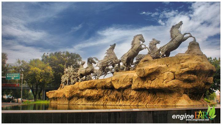 Patung Arjuna Wijaya ( Patung Kuda )