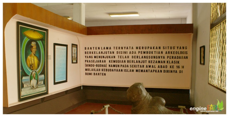 Surosowan Banten Lama Ii Museum Menara Vihara Engine Ear