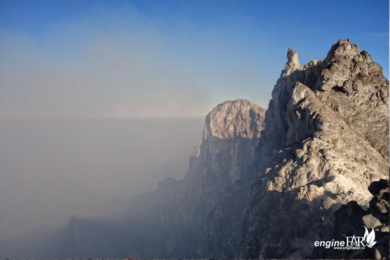 Dinding Kaldera Merapi