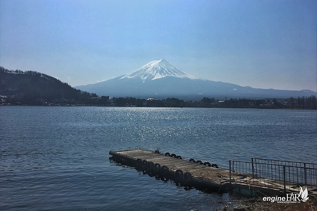 Danau Kawaguchi & gunung Fuji