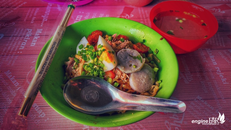 Semangkok Mie Ayam Akong - Acim